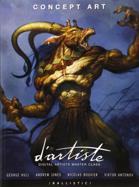 d'artiste Concept Art: Digital Artists Master Class Paperback with Slipcase