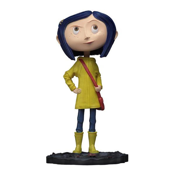 Coraline Head-Knocker Bobble Head Figure