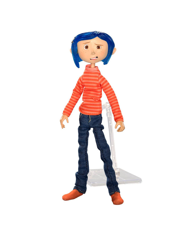 Coraline with Stripe Shiert Figure Neca