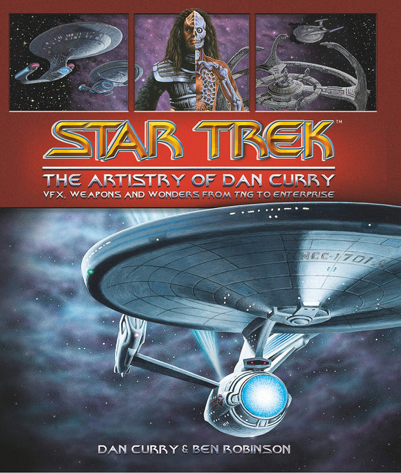 STAR TREK ARTISTRY OF DAN CURRY HC