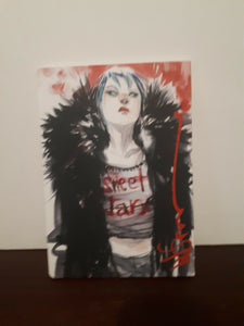 Dustin Nguyen 2019 Sketchbook Signed