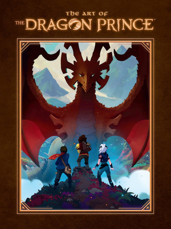 COMING SOON - ART OF DRAGON PRINCE HC