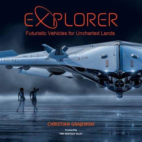 EXPLORER FUTURISTIC VEHICLES FOR UNCHARTED LANDS