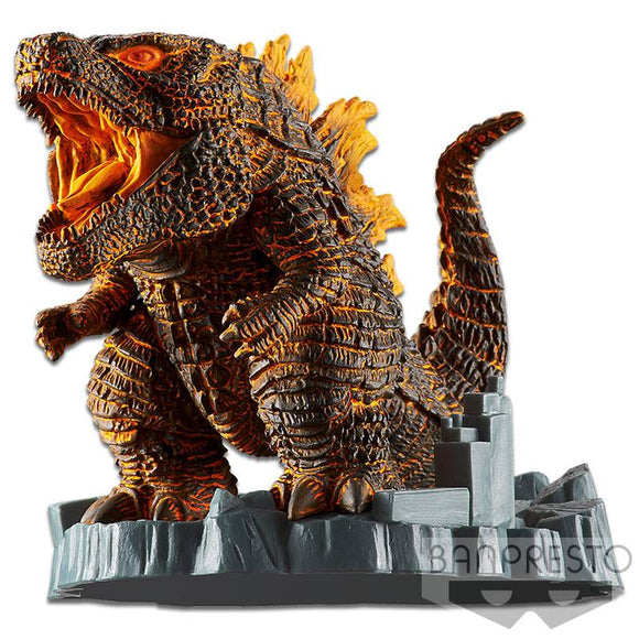 Godzilla 2019 Deformation Figure V2. Burning
