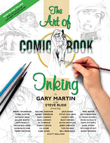 The Art Of Comic-Book Inking 2nd Edition Paperback