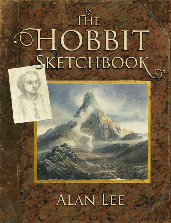 HOBBIT SKETCHBOOK ALAN LEE HC