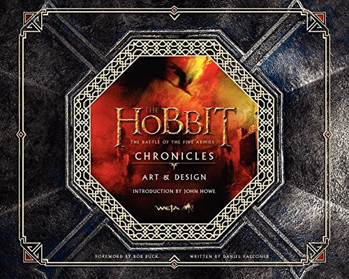 HOBBIT BATTLE OF THE FIVE ARMIES CHRONICLES ART & DESIGN HC