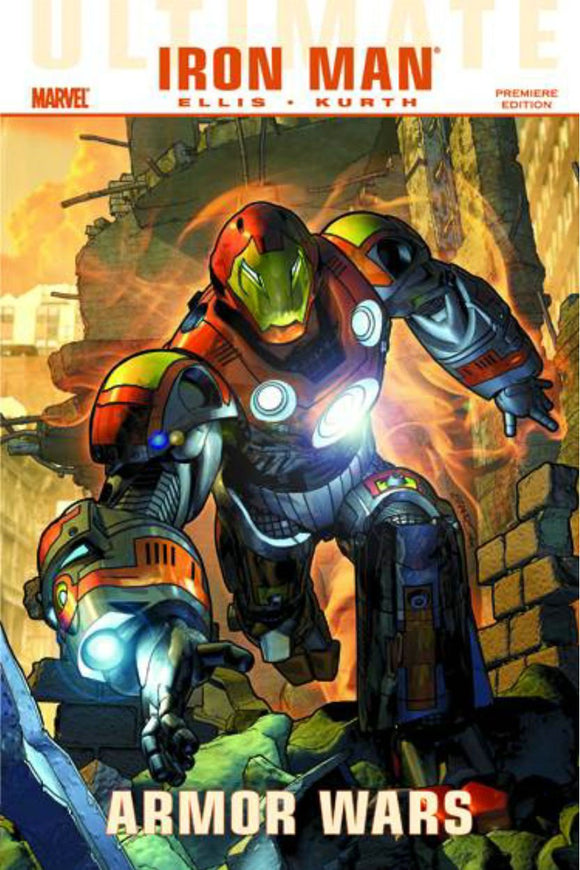 Ultimate Comics Iron Man: Armor Wars Premiere HC Hardcover