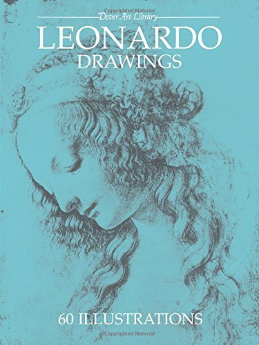 LEONARDO DRAWINGS 60 ILLUSTRATIONS