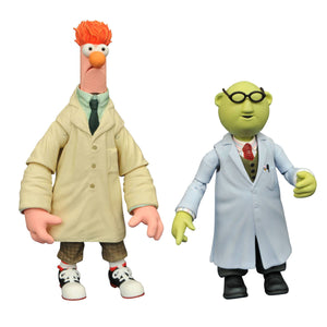 MUPPETS BEST OF SERIES 2 BUNSEN WITH BEAKER FIGURES