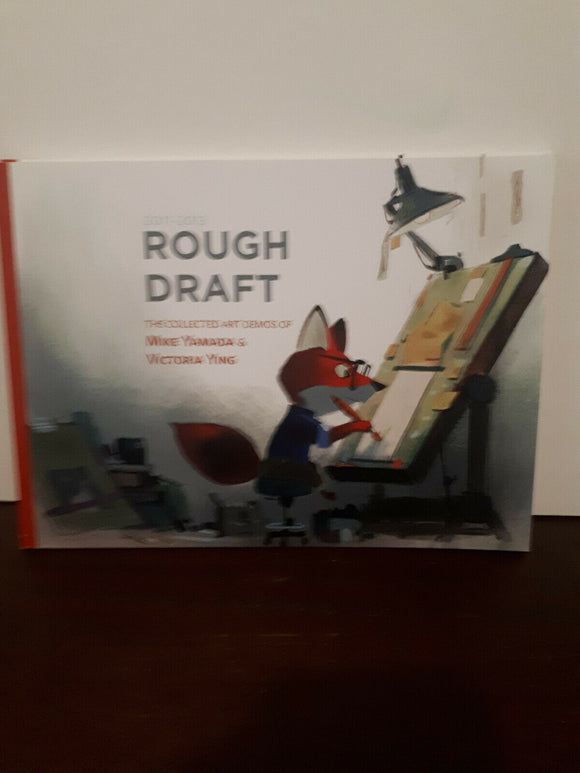 Rough Draft vol 1 Mike Yamada Victoria Ying Signed