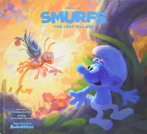 ART OF SMURFS THE LOST VILLAGE HC