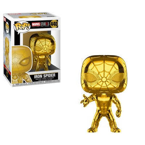 POP MARVEL SPIDER-MAN 10th ANN. GOLD VINYL FIGURE
