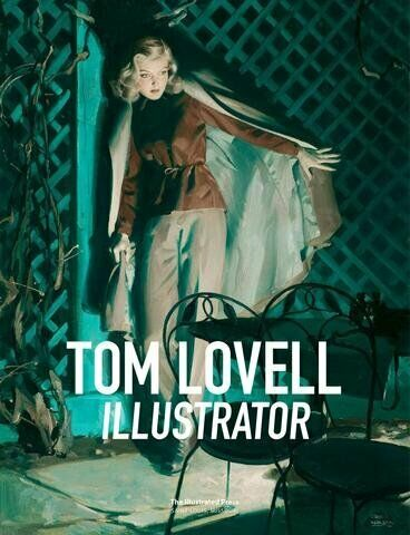 Tom Lovell Illustrator HC illustration art book