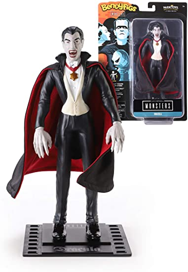 UNIVERSAL MONSTERS BENDYFIGS DRACULA