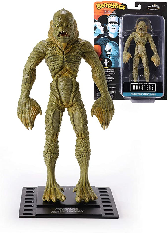 UNIVERSAL MONSTERS BENDYFIGS CREATURE BLACK LAGOON
