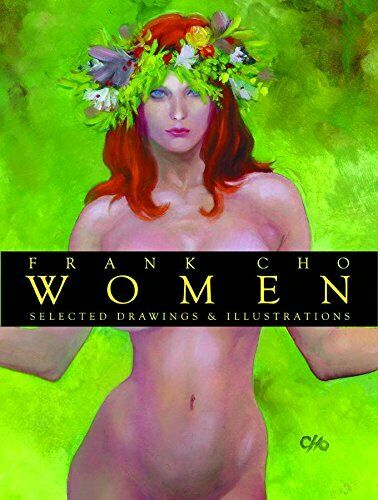 Frank Cho Women Collected Drawings vol 1 Hardcover