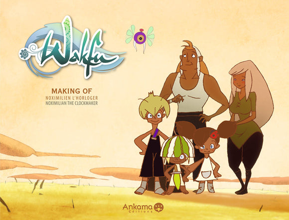 WAKFU MAKING OF NOXIMILIAN THE CLOCKMAKER