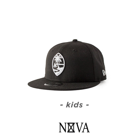 Kids Guam Seal 9Fifty Snapback Black/White