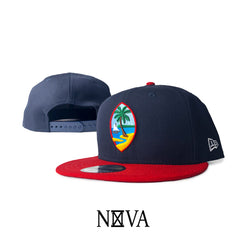 Guam Seal Navy/Red 9Fifty Snapback