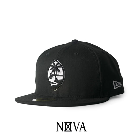 Guam Seal Black/White 59Fifty Fitted
