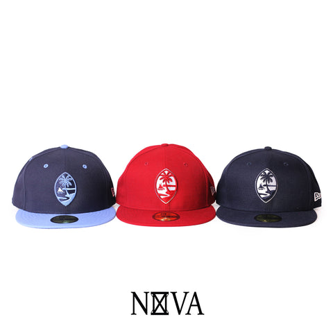 3 Pack Fitted Guam Seal 59Fifty