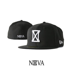 Nova Hourglass Black/White 59Fifty Fitted