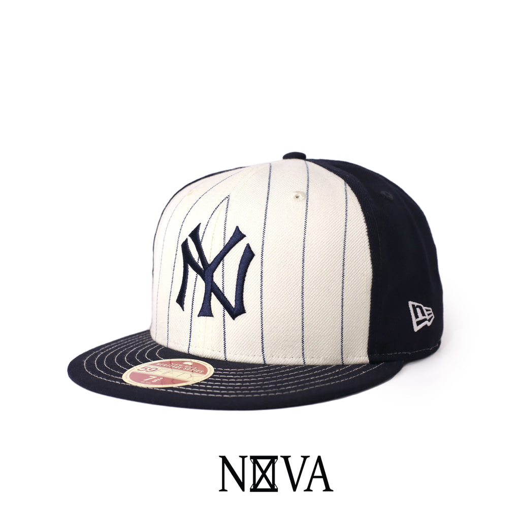 New York Yankees Heritage Series Navy/White 59Fifty Fitted