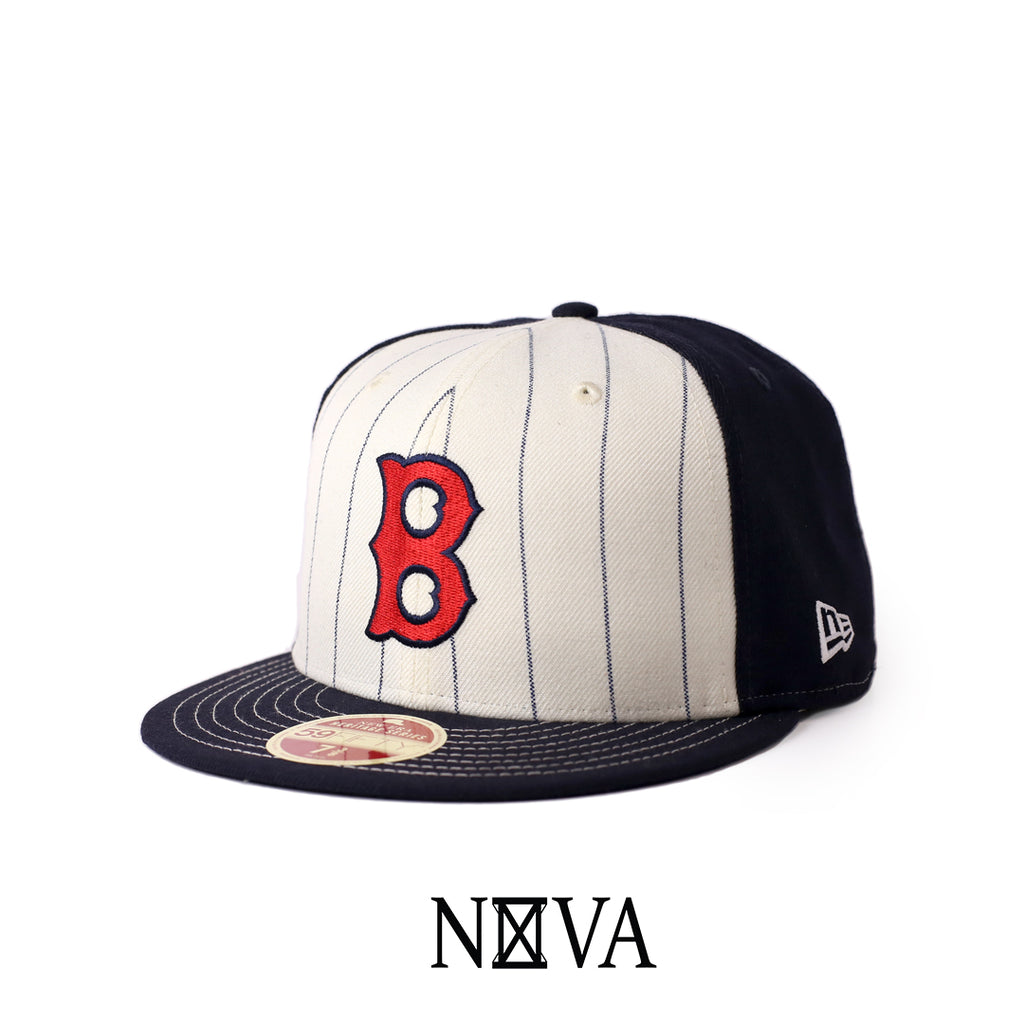 Boston Red Sox Heritage Series Navy/White 59Fifty Fitted