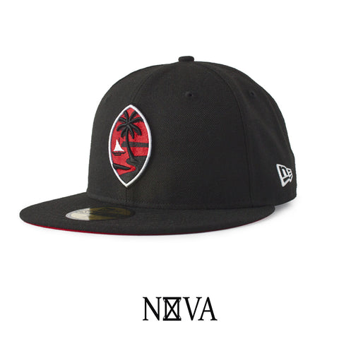 Guam Seal 59Fifty Fitted Black/Red/White