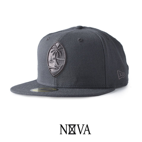 Guam Seal 59Fifty Fitted Graphite/Graphite