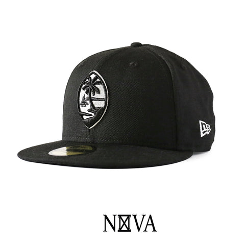 Guam Seal 59Fifty Fitted Black/Silver
