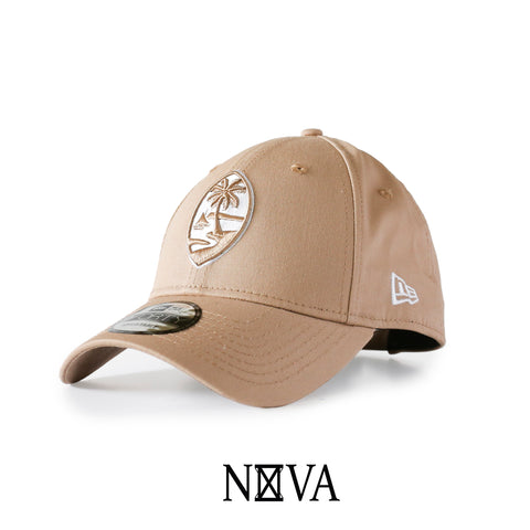 Guam Seal 9Forty Strapback Camel/White