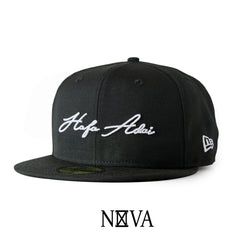 Hafa Adai Script 59Fifty Fitted Black/White