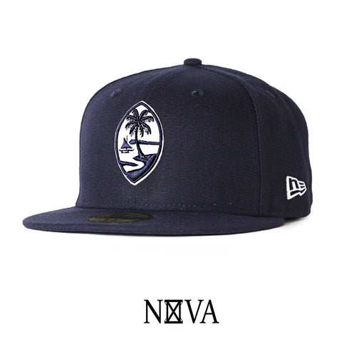 Guam Seal 59Fifty Fitted Navy/White