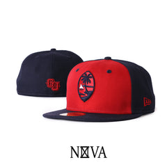 Guam Seal 59Fifty Two Tone Fitted Navy/Red
