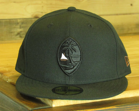 Guam Seal New Era 59Fifty Fitted Proa/Black/Camouflage Under Visor