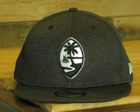 Guam Seal New Era 59Fifty Fitted Shadow Tech Black/White