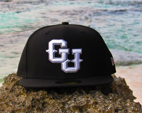GU New Era 59Fifty Fitted Black/White