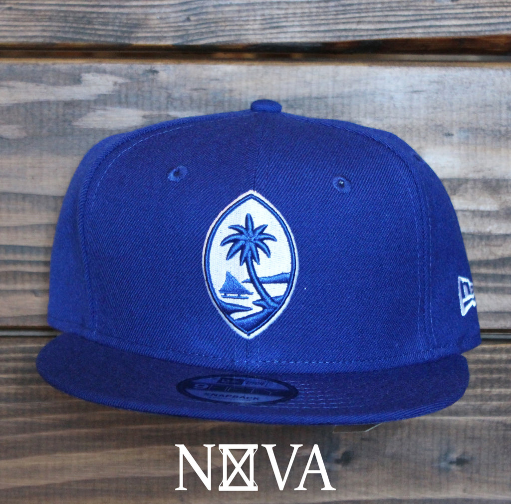 Classic Guam Seal Royal/White 9Fifty Snapback