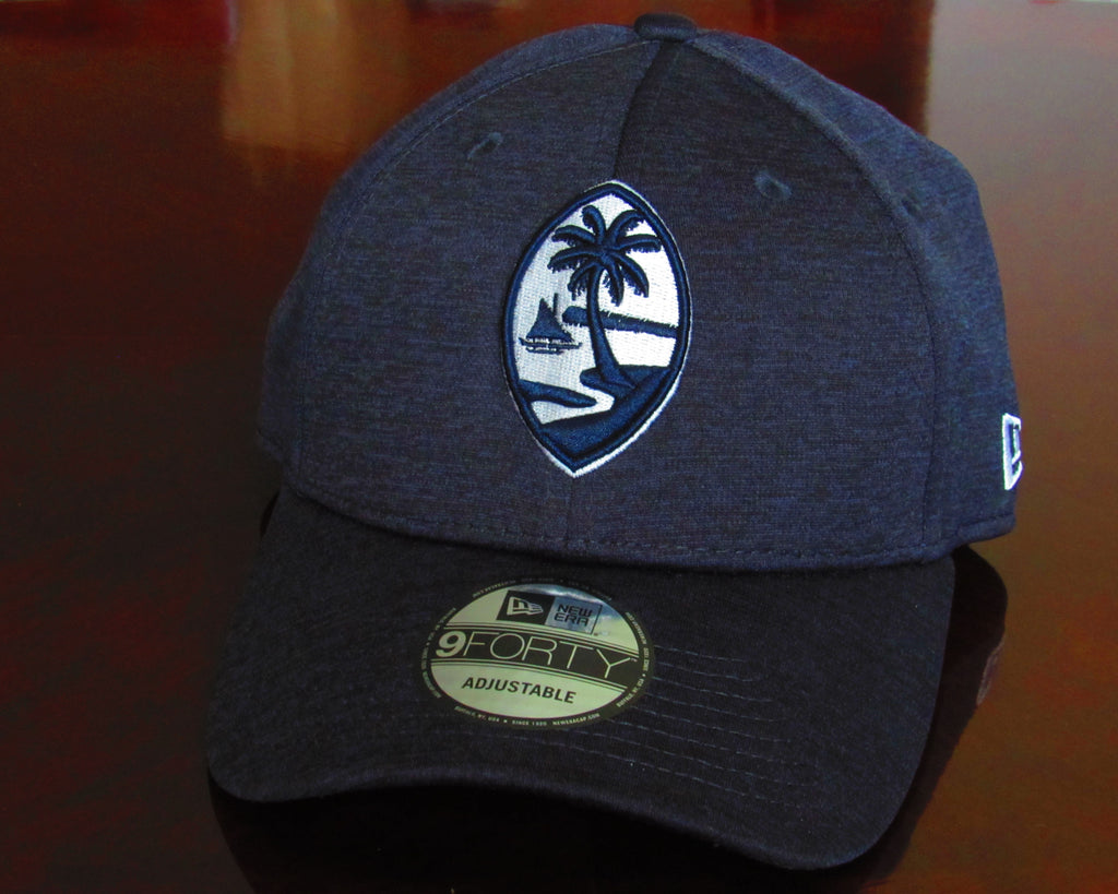 Guam Seal New Era 9Forty Strapback Shadow Tech Navy/White