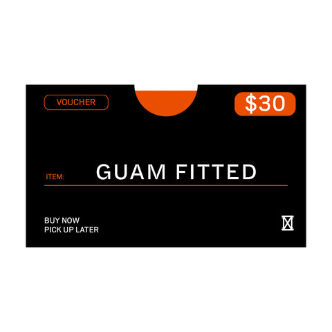 (MUST BE REDEEMED AT STORE)  Guam Fitted Voucher Buy Now, Pick up Later *REFER TO DESCRIPTION