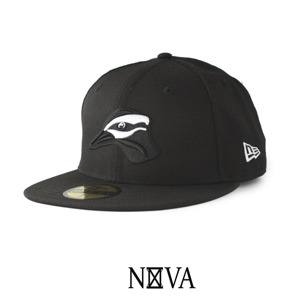 Stay Grounded 59Fifty Fitted Black/White