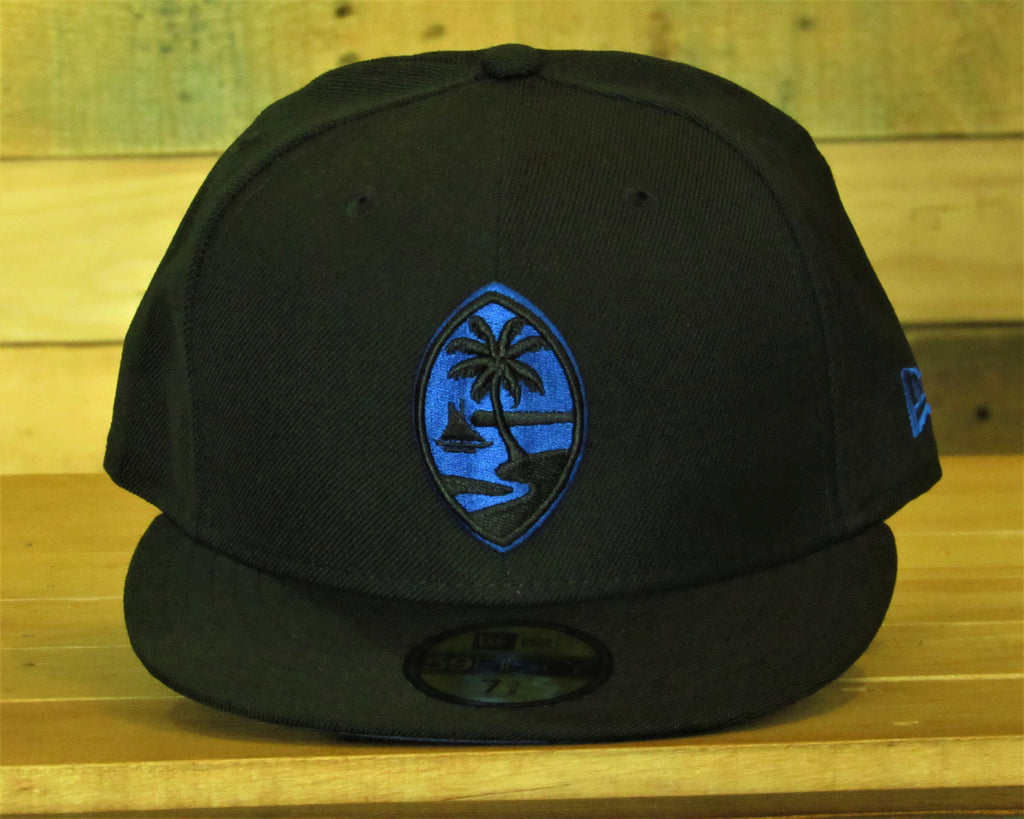 Guam Seal New Era 59Fifty Fitted Black/Royal