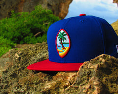 Guam Seal New Era 9Fifty Snapback Royal/Red