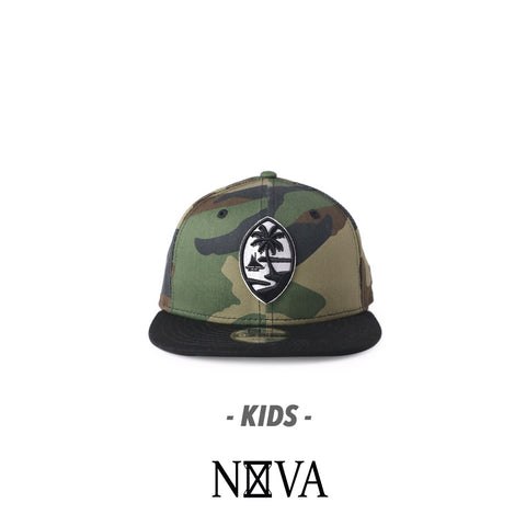 Kids Guam Seal 9Fifty Snapback Camo/Black