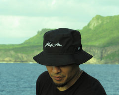 Hafa Adai New Era Prolight Bucket Hat Black/White