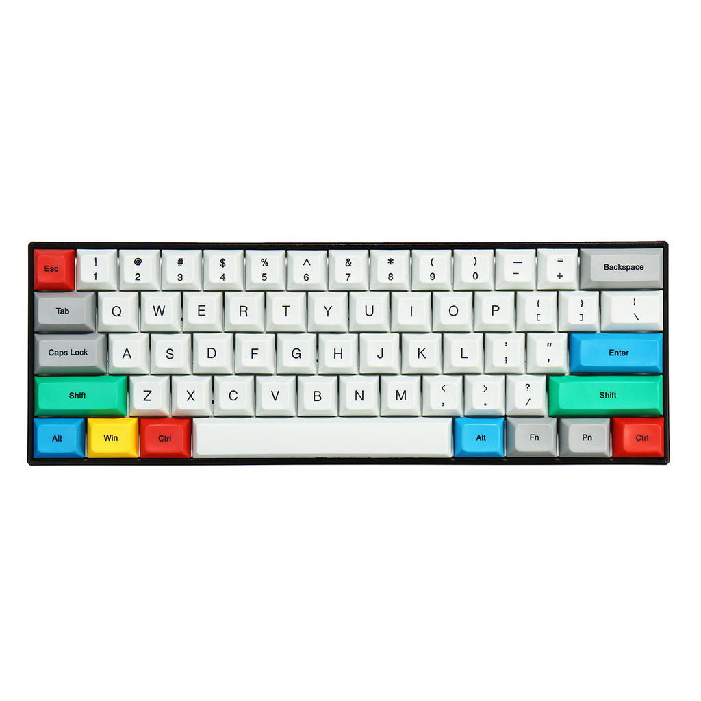 TKD RETRO Keycaps for 60% Mechanical Keyboard - The Keyboard Depot