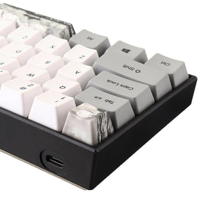 Ink Painting PBT Keycaps for 60% Mechanical Keyboards - The Keyboard Depot
