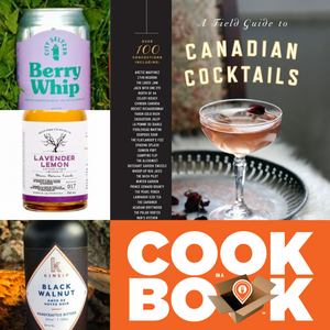 COOKBOOK IN BOX™ <br>A Field Guide to Canadian Cocktails